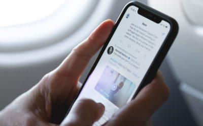 ¿Qué pasa si empiezas un tweet con @?
