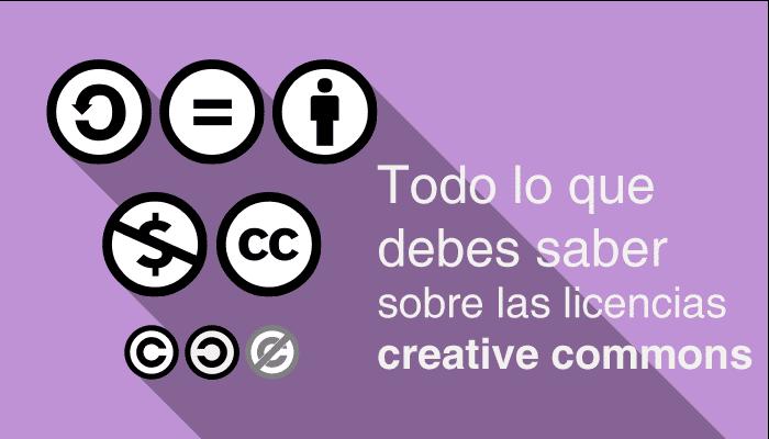 Cómo usar la licencia creative commons