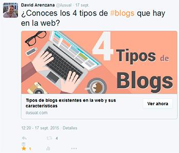 ejemplo twitter cads